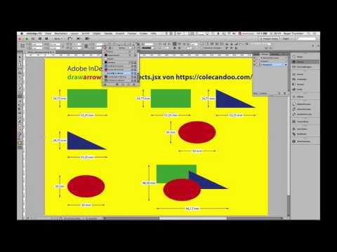 InDesign-Script – Draw arrows around an object von colecandoo