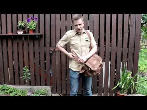 REVIEW -Caden F1 DSLR Camera Shoulder Bag(Messenger Bag)