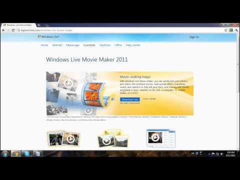 Windows Movie Maker 2011