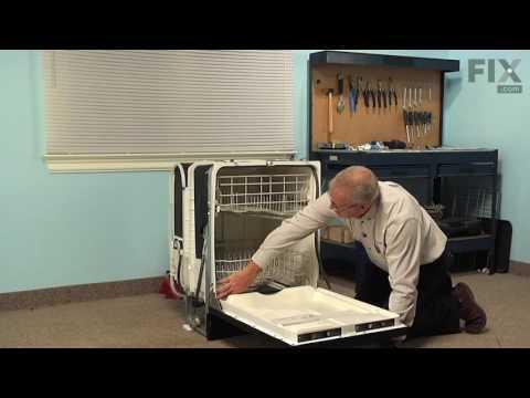 GE Dishwasher Repair – How to replace the Door Gasket