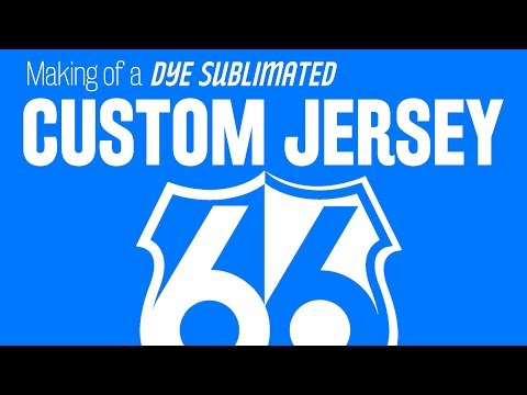 Six Six Apparel   Making of a Dye Sublimated Custom Jersey