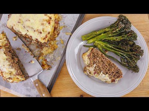 Rachael's Smollett-Style Shepherd's Meatloaf