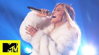 """Jennifer Lopez Performs """"Dinero"""", """"I'm Real"""" And More   MTV VMAs   Live Performance"""