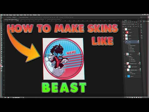 HOW TO MAKE GOTA.IO SKINS LIKE BEAST (WITH VOICE!)