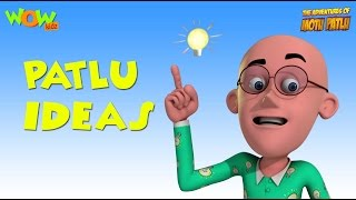 Patlu and His Ideas | Motu Patlu Compilation Part 4 | 30 Minutes of Fun!| As seen on Nickelodeon