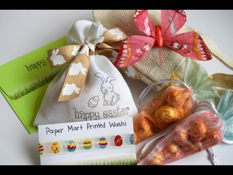 Easter Treat Bags Sponsored by PaperMart