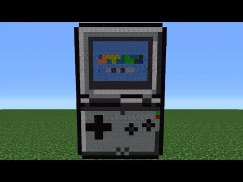 Minecraft Tutorial: How To Make A Gameboy SP