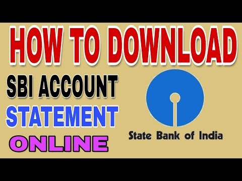 How To Download Account Statement In SBI Bank | How To Download Transaction Details