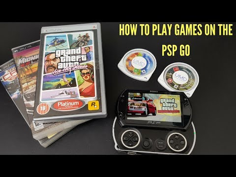 How To Download Sony Psp Games On the Sony Psp Go System : Playstation 3 Method