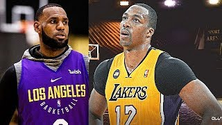 LeBron James Gets Furious With Dwight Howard In Lakers Workout! Parody