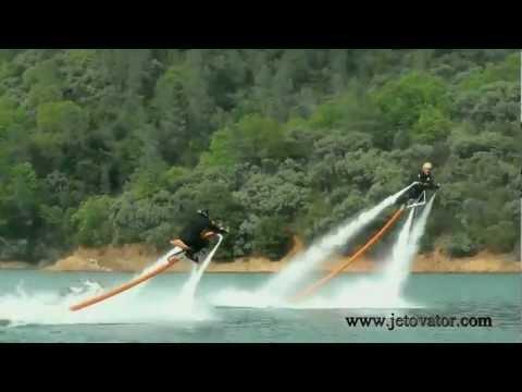 Jetovator, Flying, water-powered bike