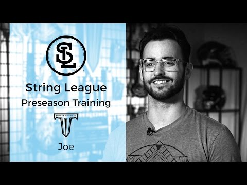 How to CHANNEL a LACROSSE POCKET & Side wall theory by Joe – Throne of String