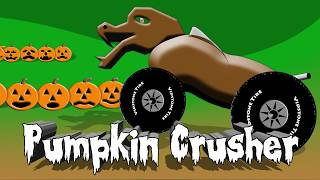 Pumpkin Crusher 2 - Scary Monster Truck Counting For Kids