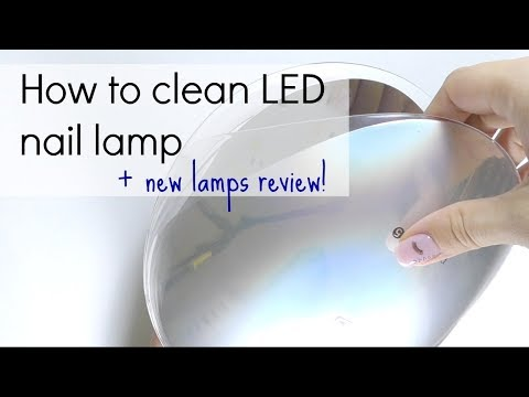 LED / UV gel nail lamp : how to use, choose & clean | New lamps review