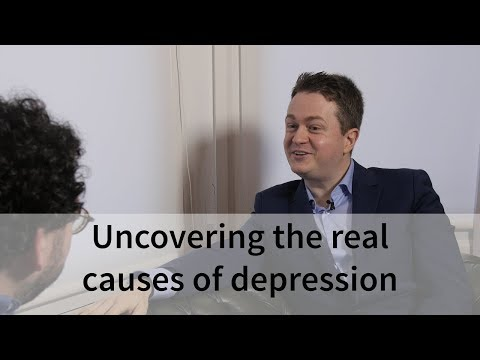 Johann Hari on uncovering the real causes of depression, from his new book