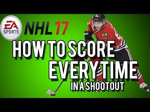 NHL17 | How to Score Every Time In a Shootout