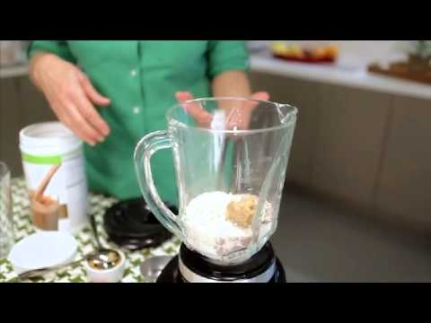 How to make a Herbalife Shake to increase your calorie intake