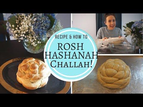 ROSH HASHANAH Challah! How to Make Challah for Shabbat & Round Challah for Rosh Hashanah