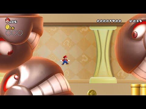 New Super Mario Bros. Wii - Custom Stage [HD]