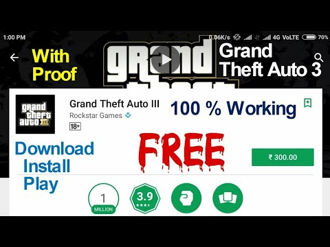 How To Download GTA:3 Game For Free On Any Android Device