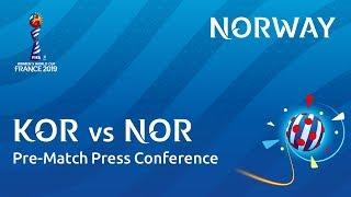 KOR v. NOR - Norway - Pre-Match Press Conference