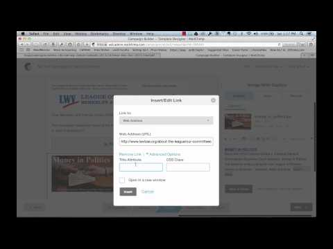 How to Make a Pretty Hyperlink in Mailchimp