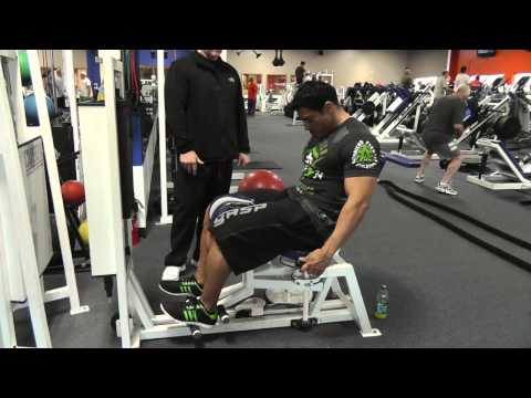 Adductor Muscles Machine Exercise