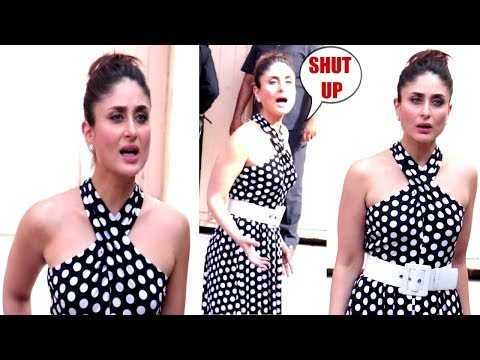 Kareena Kapoor Gets ANGRY & SHOUTS On Media Photographers For Asking Her TO POSE  STUPIDLY