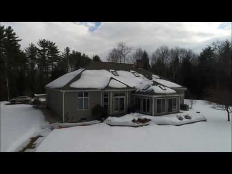 Aerial Drone Video of Pine Mill Drive Tuftonboro NH Property