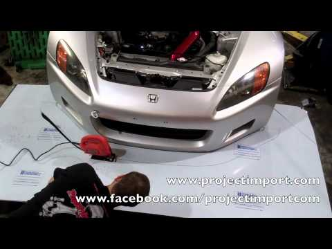 Project Import: Honda S2000 Custom Front Wind Splitter