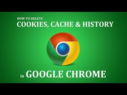 How To Delete Cookies, Cache, History From Google Chrome 2017?