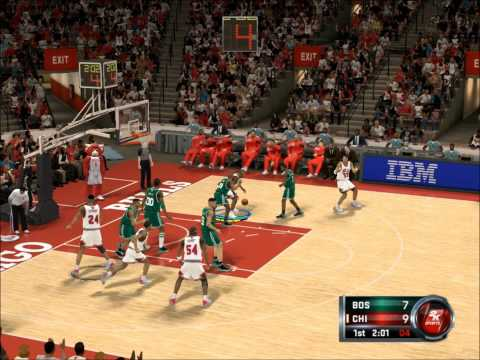 Michael Jordan mix nba2k12
