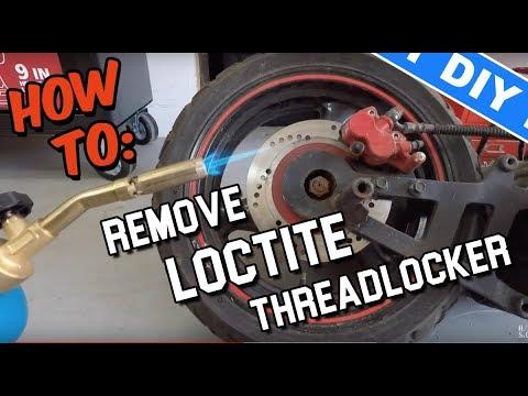 How to Remove Loctite Threadlocker