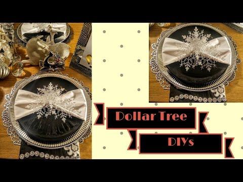 Never Seen! DIY Dollar Tree Glamorous💖 Winter Wonderland❄ Napkin Rings| DIY B-day🎊| DIY Home Decor