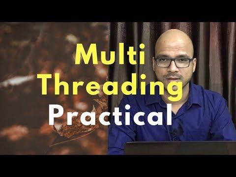 13.2 Multithreading in Java Practical