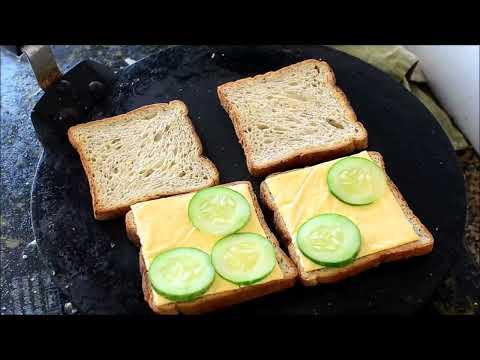 Food - Simple Veg Cheese Sandwich