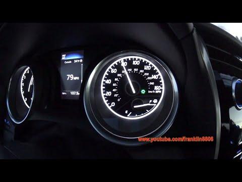2018 Toyota Camry LE 0-60mph, 0-80mph, & 60-0mph