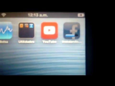 Como instalar apps de iOs 7 en iOs6 - Ipod 4G