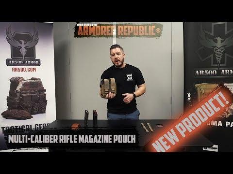 AR500 Armor® Multi Caliber Rifle Mag Pouch