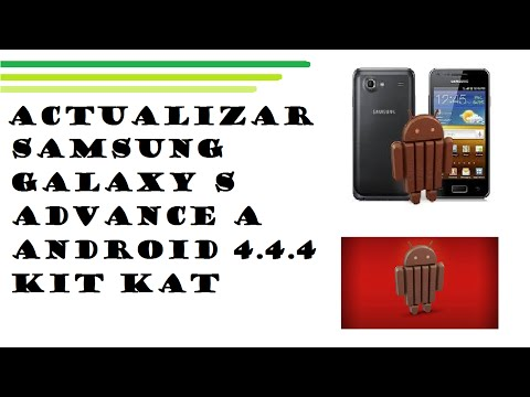 Actualizar samsung galaxy S advance a android 4.4.4 kit kat