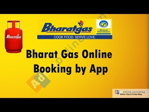 Bharat Gas Online booking Mobile Application