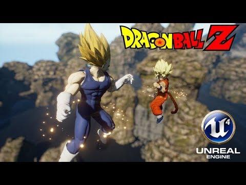 Dragon Ball Unreal (Demo) Gameplay - Xbox And PC Max Setting [2k-1440p]