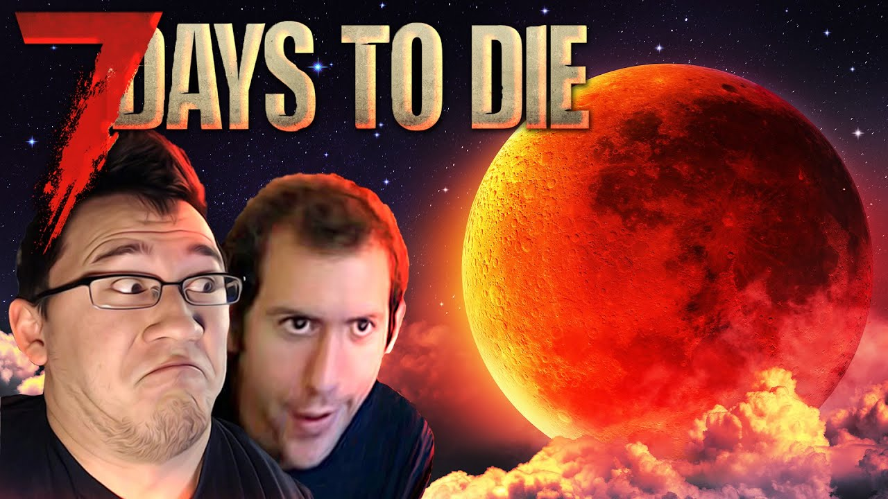 WHAT HAPPENS IF EVERY NIGHT IS A BLOOD MOON?! | 7 Days to Die MEGA EPISODE
