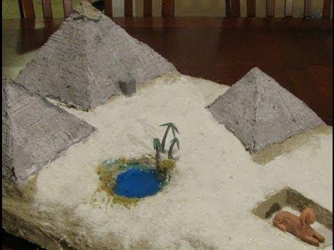 Make an Egyptian Diorama