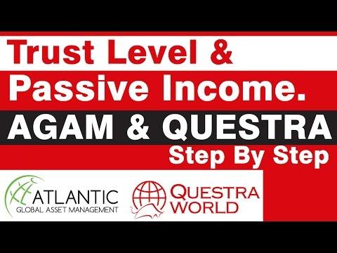 AGAM & Questra - Trust Level & Passive Income Strategy.