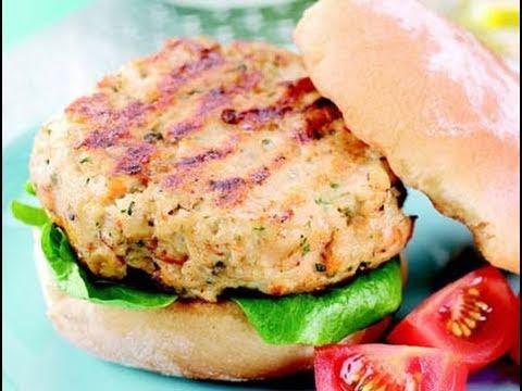 Bodybuilding Turkey Burgers High-Protein Low-Fat