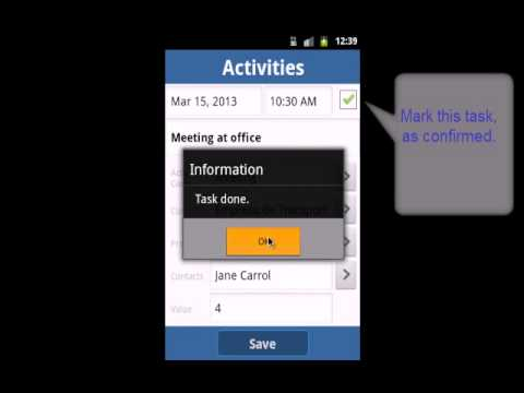 Gestire Task -  My Business Agenda (an Android Time and Expenses App)