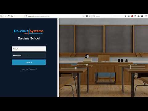 Advance School Management System in PHp With mysql