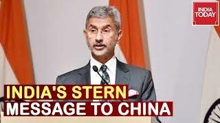 Jaishankar In China: India's Stern Message To China, Ind-China Sign 2020 Vision