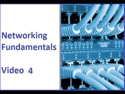 Networking Fundamentals 4